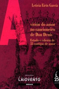 Capa de A visión do amor no cancioneiro de Don Denis