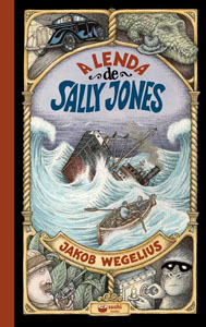 Capa de A lenda de Sally Jones