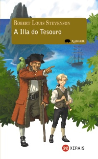 Capa de A illa do tesouro
