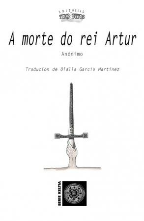 Capa de A morte do rei Artur
